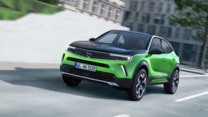 Opel mokka route
